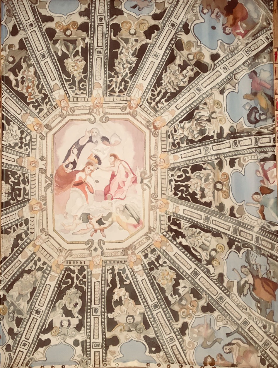 Bergamo Cathedral Ceiling