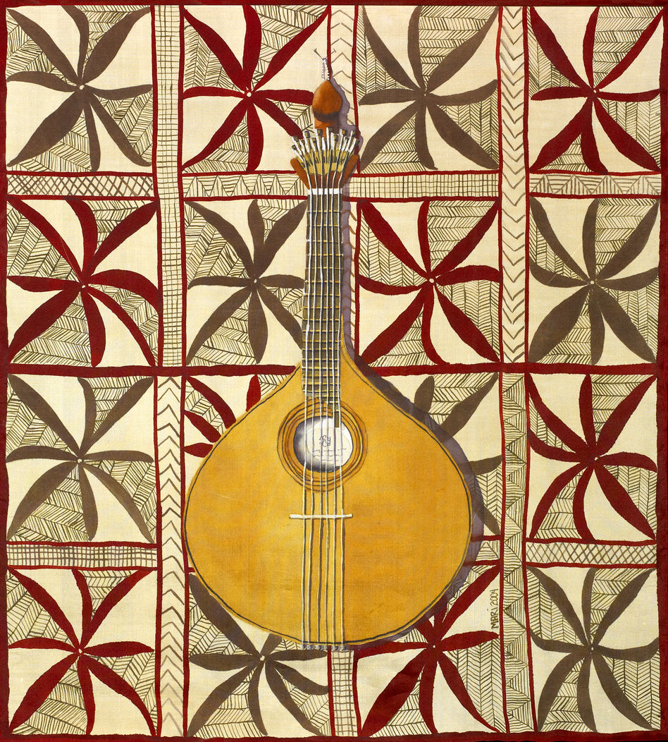 Portuguese Guitarra and Samoan Tapa