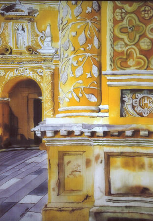 Antigua Church Interior