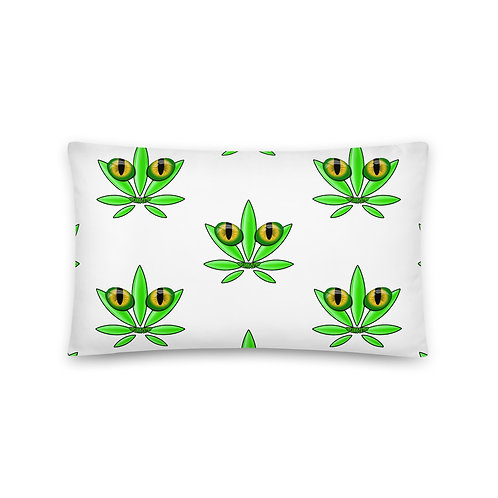 """Organic Catnip"" Basic Pillow"