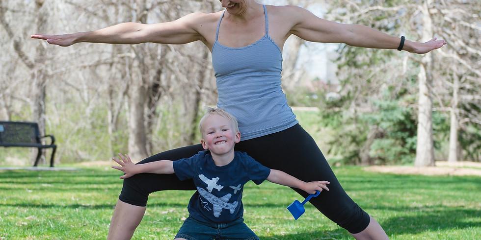 Caregiver & Me Yoga (May)