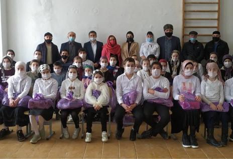 Благотворительные акции в школах Дагестана