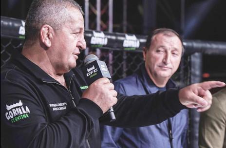 Заур Аскендеров принял участие в открытии международного турнира по смешанным единоборствам новой об