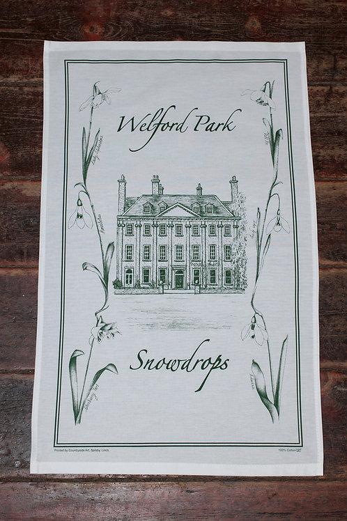 Welford Park House Tea Towel