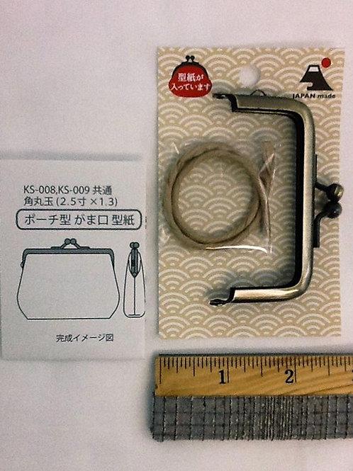 METAL PURSE FRAME KS-009