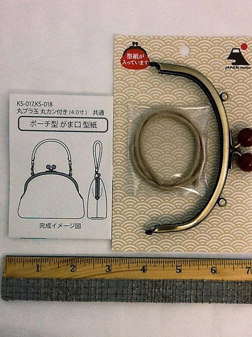 METAL PURSE FRAME KS-018