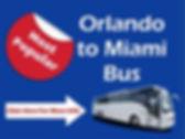Orlando to Miami Bus