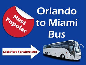 Orlando To Miami Bus Transportation