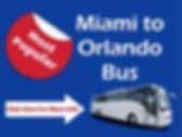 Miami to Orlando Bus