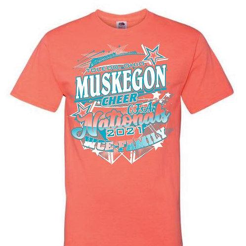 Muskegon Cheer Nationals Tees 2021