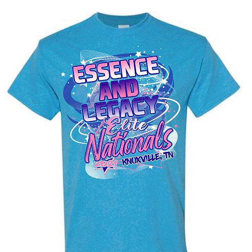 Essence and Legacy Elite Nationals Tees
