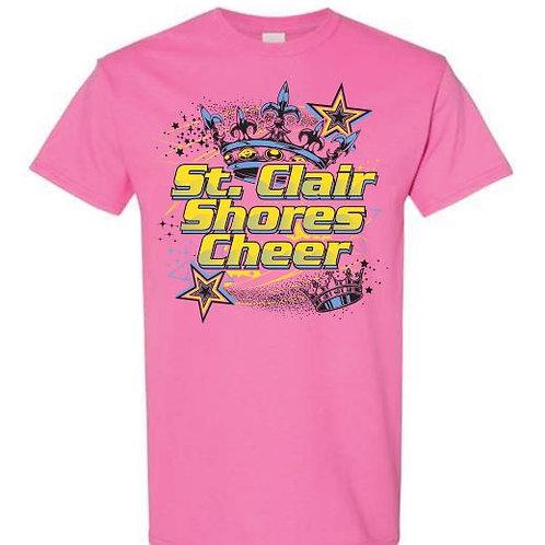 St Clair Shores Cheer Tees