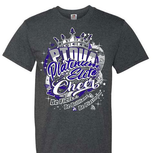 Piqua Platinum Cheer Team Tees