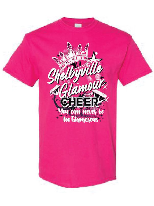 Shelbyville Cheer Team Tees