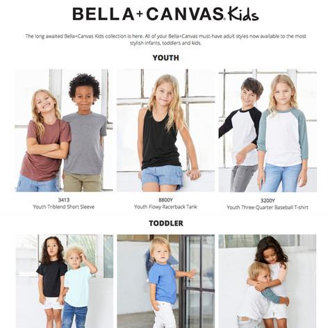 Bella + Canvas Kids - Apparel