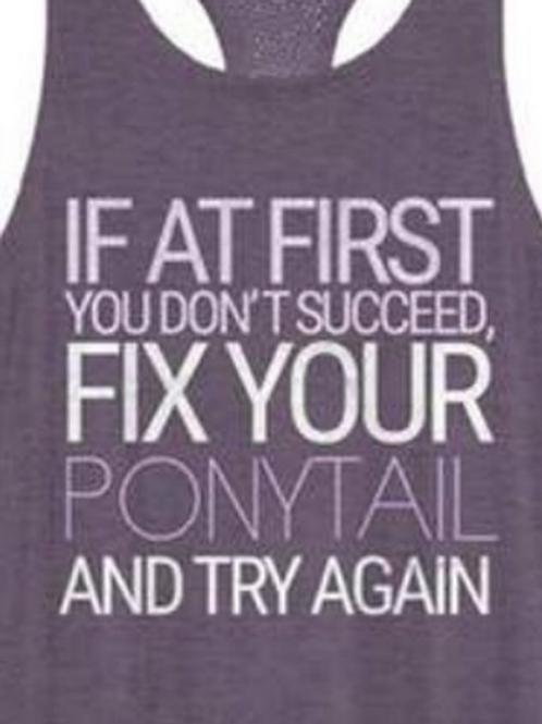 Fix Your Ponytails