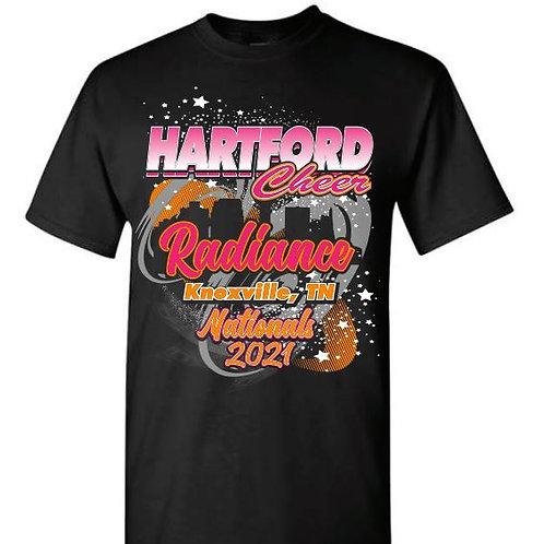 Hartford Cheer Nationals RADIANCE Tees