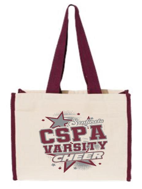 CSPA Varsity Cheer Tote
