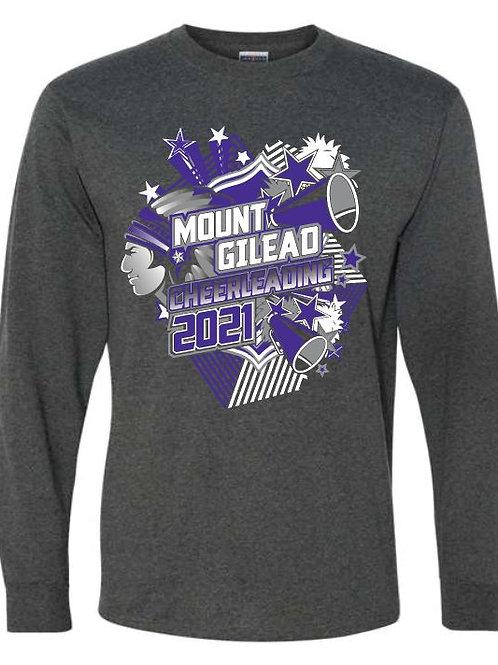 Mount Gilead Cheer Long Sleeve Tee