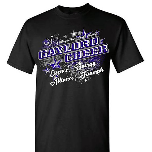 Gaylord Cheer Team Tees