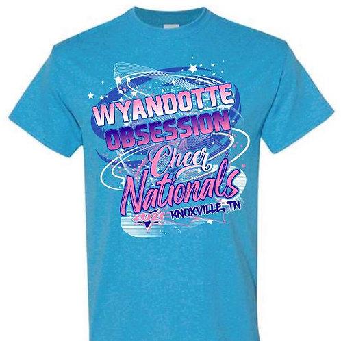Wyandotte Cheer Nationals Tees