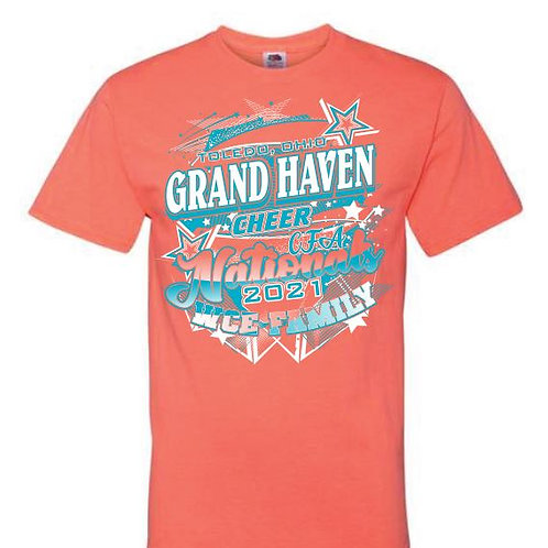 Grand Haven Cheer Nationals Tees 2021
