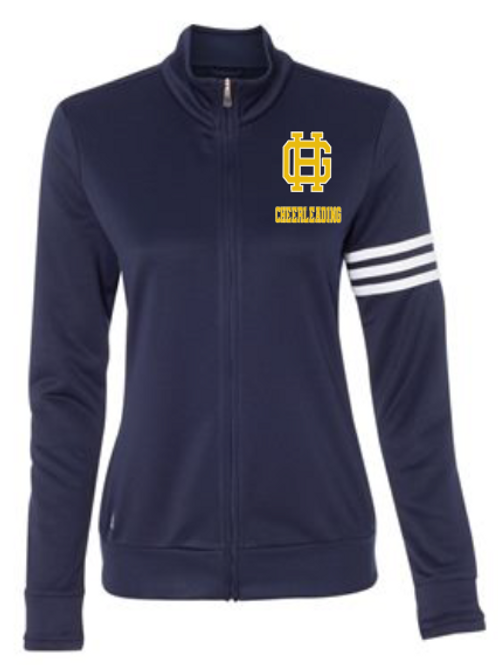 GH Adidas - Women's ClimaLite 3-Stripes French Terry Full-Zip Jacket