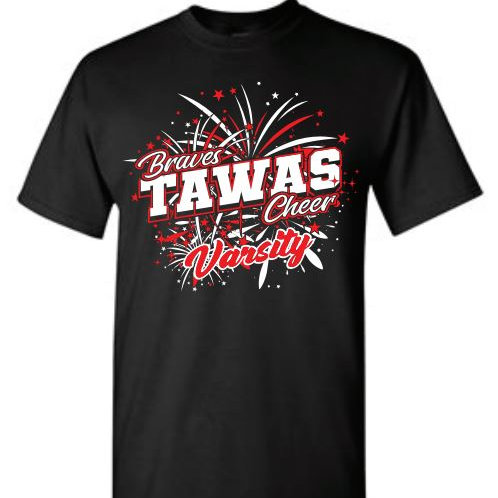 Tawas Varsity Cheer Performance® T-Shirt