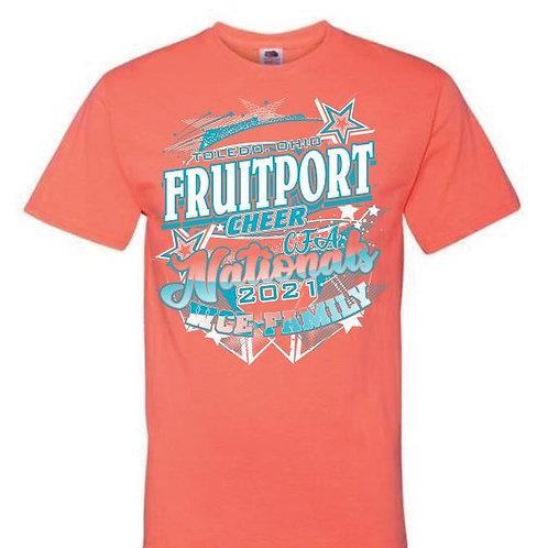 Fruitport Cheer Nationals Tees 2021
