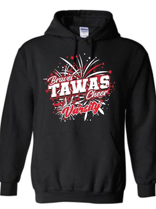 Tawas Varsity Cheer Heavy Blend™ Hooded Sweatshirt