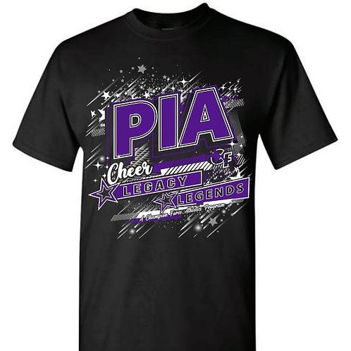 PIA Cheer Team Tees