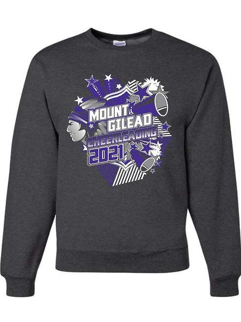 Mount Gilead Cheer Crewneck Sweatshirt