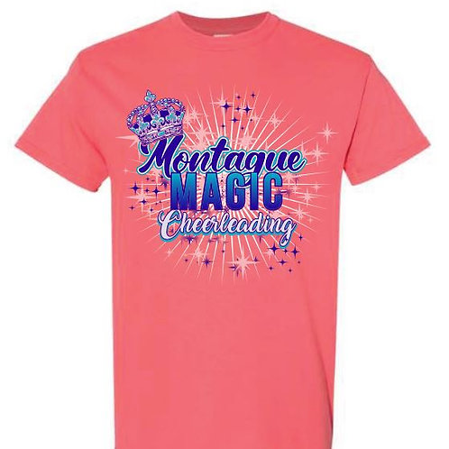 Montague Cheer Tees