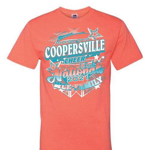 Coopersville Cheer Nationals Tees 2021