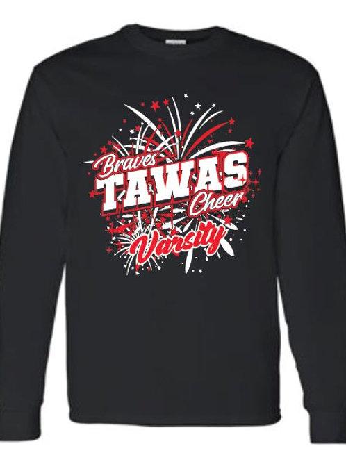 Tawas Varsity Cheer Long Sleeve Tee