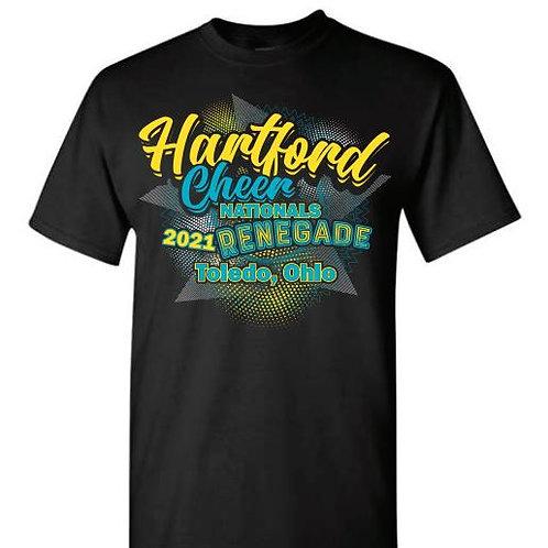 Hartford Cheer Nationals RENEGADE Tees