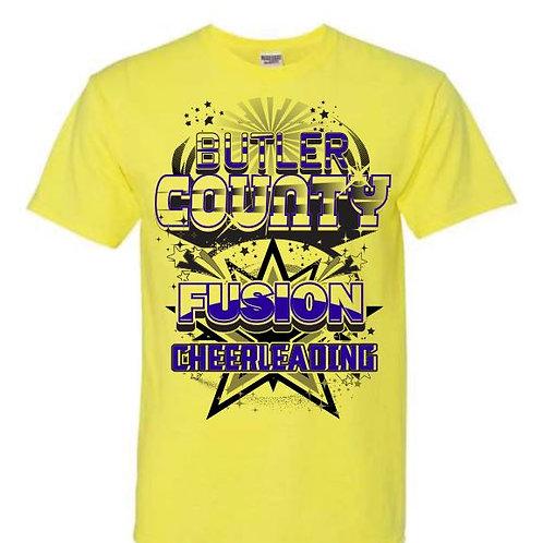 Butler County Fusion Team Tees