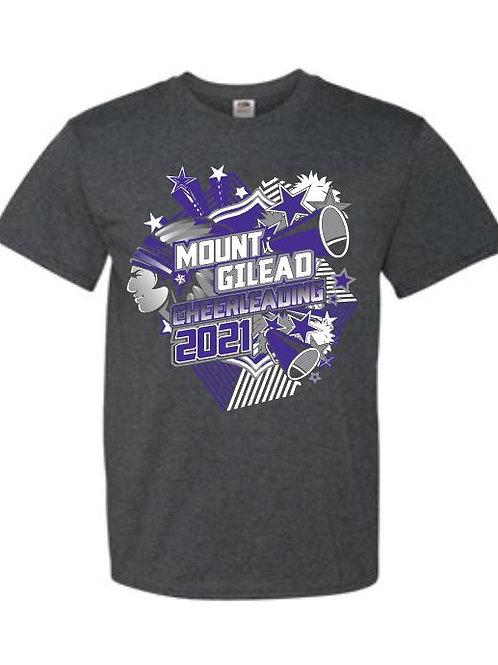 Mount Gilead Cheer Team Tees