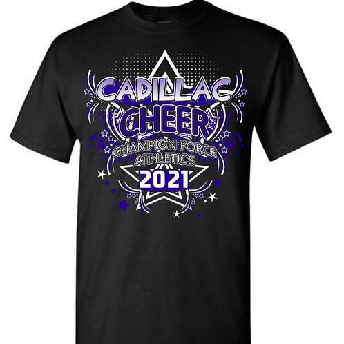 Cadillac Cheer Team Tees