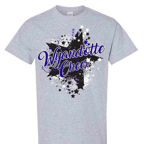 Wyandotte Cheer Team Tees