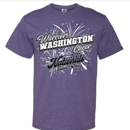 Washington Warriors Nationals  Tees