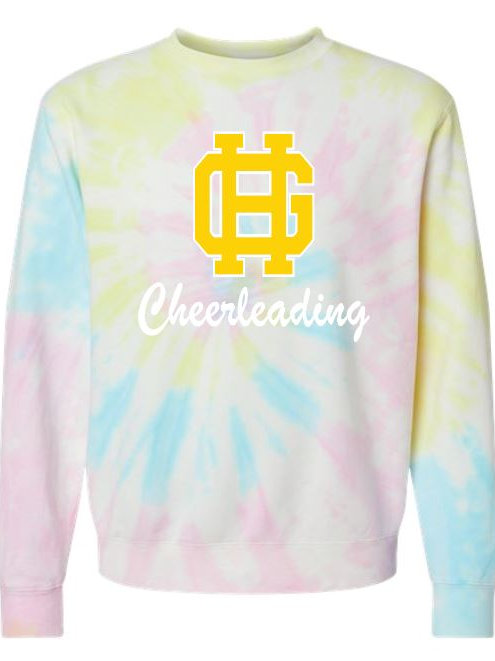 GH Tie-Dyed Crewneck Sweatshirt