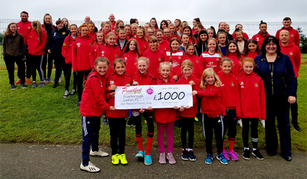 Proudfoot Supermarkets Support Scarborough Ladies