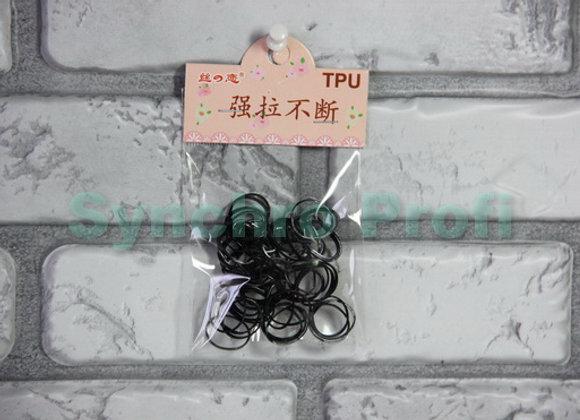 Резинка для волос силиконовая упаковка 50 штук