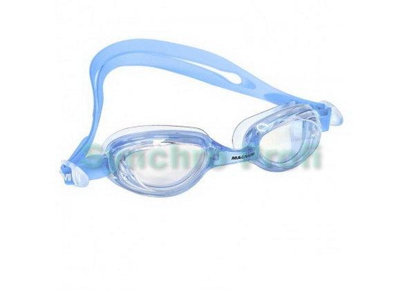 Очки для плавания Fluent Magnum Junior (антифог, силикон, мягкая  переносица)