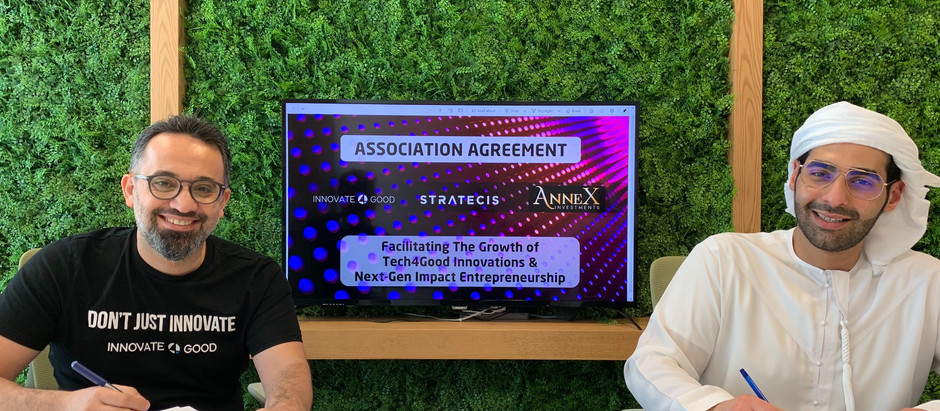 Annex Investments signs Strategic Collaboration Agreement with Innovate4Good