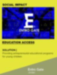 I4G Shortlisted ChangeMaker | Entro Gate