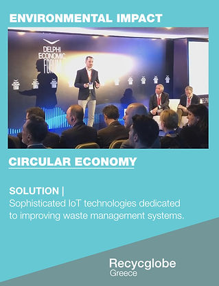 Innovate4Good's Shortlisted ChangeMake | Recycglobe