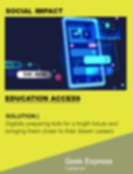 I4G Shortlisted ChangeMaker | Geek Express