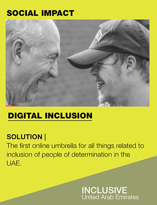 Innovate4Good's Shortlisted ChangeMake | Inclusive